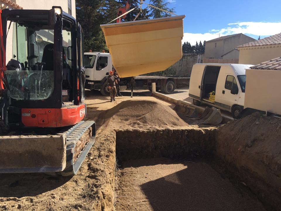 Terrassement et assainissement Carpentras